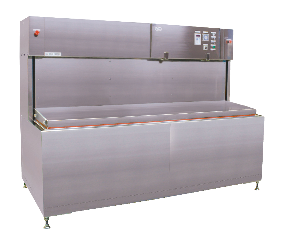 Image of model RF-80/100 which is a liquid based commercial freezer for 80 to 100 kg (176 to 220 lbs) per hour