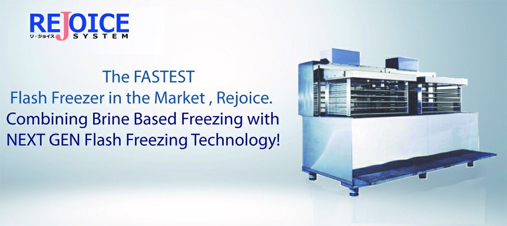 Rejoice flash freezer features