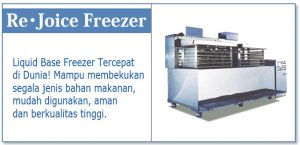 Rejoice Freezer Berbasis liquid