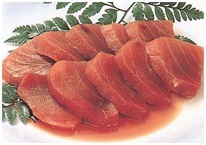 sashimi beku Freezer biasa