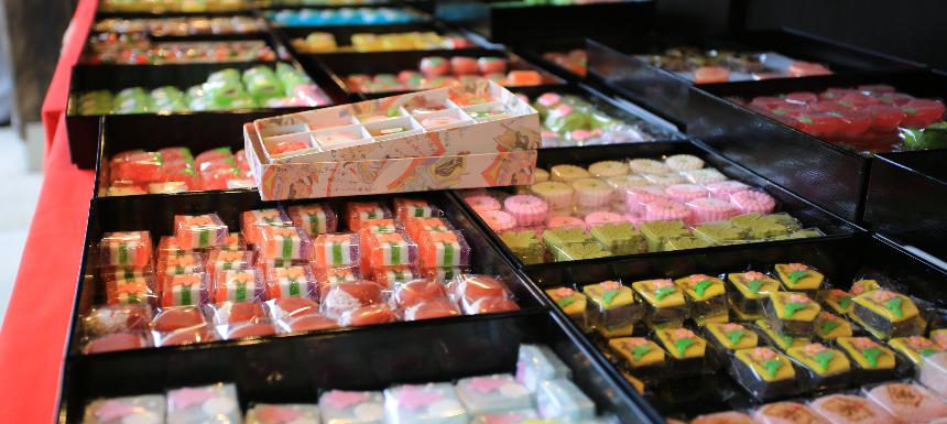 日式甜點店示意圖