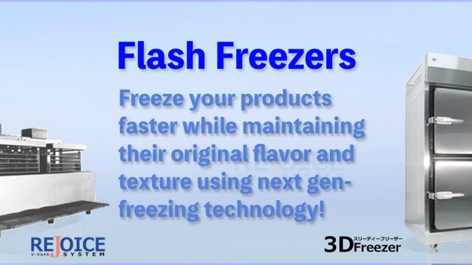 3 flash freezers