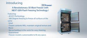 blast freezer specifications