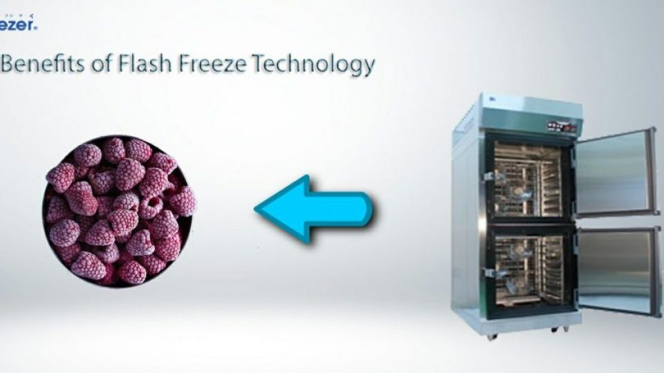 Benefit of flash freeze technology