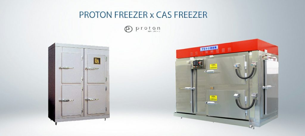 CAS FREEZERS and PROTON FREEZERS