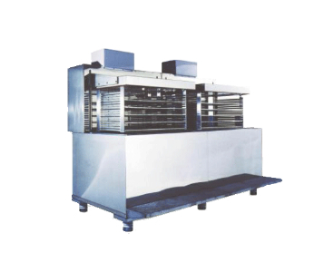 Image of our liquid flash freezer model RF-160/200 which can freeze 160 to 200 kg (350 to 440 lbs) per hour