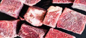 肉冷凍示意圖