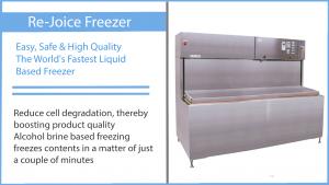 Rejoice freezer liquid flash freeze technology