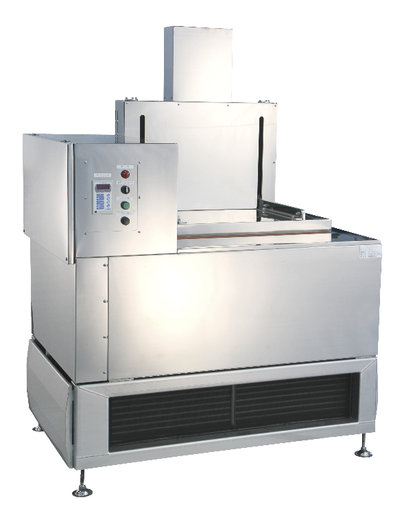 Image of our liquid based flash freezer model RF-10L which can freeze 10 kg (22 lbs)  per hour