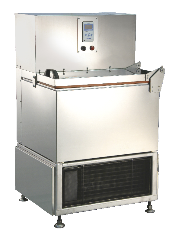 Image of our liquid based commercial freezer model RF-2 which can freeze 2 kg (5 lbs) per hour