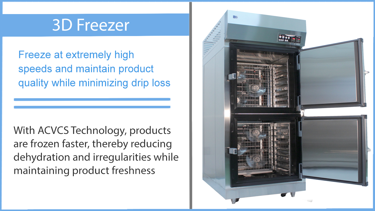 Blast Freezer description