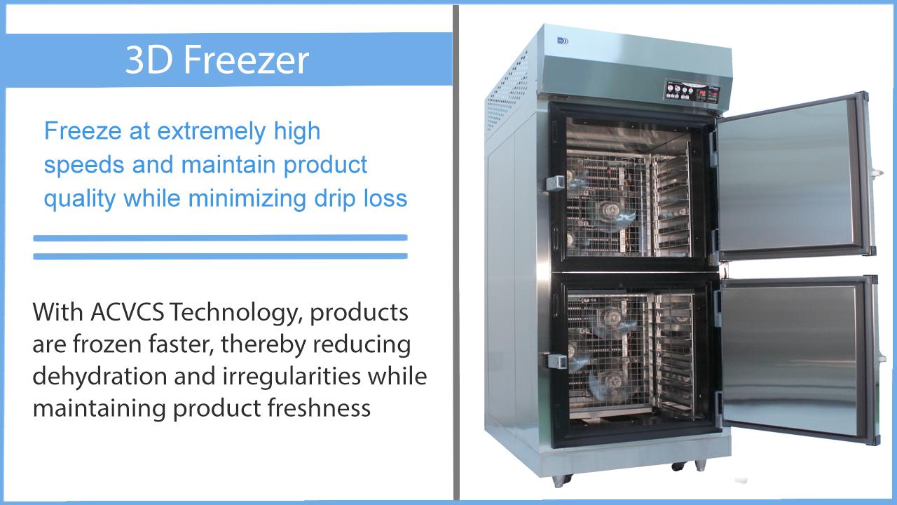Blast Freezer description