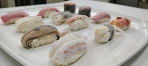 冷凍壽司測試