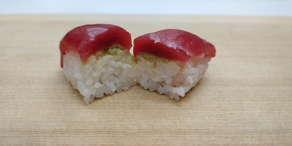 壽司切面圖
