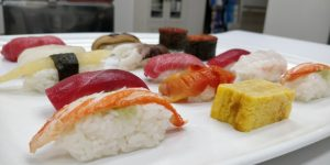 Defrosted Sushi