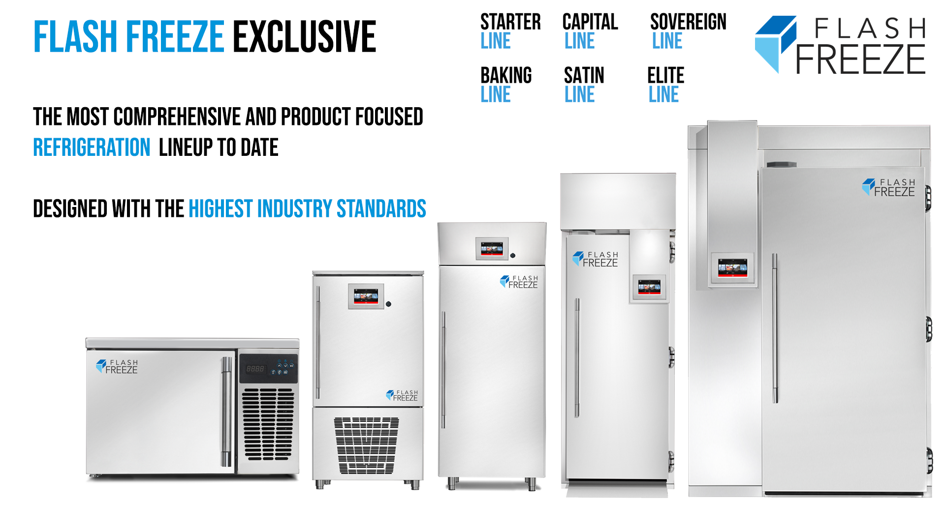 Blast Freezer Product Lineup