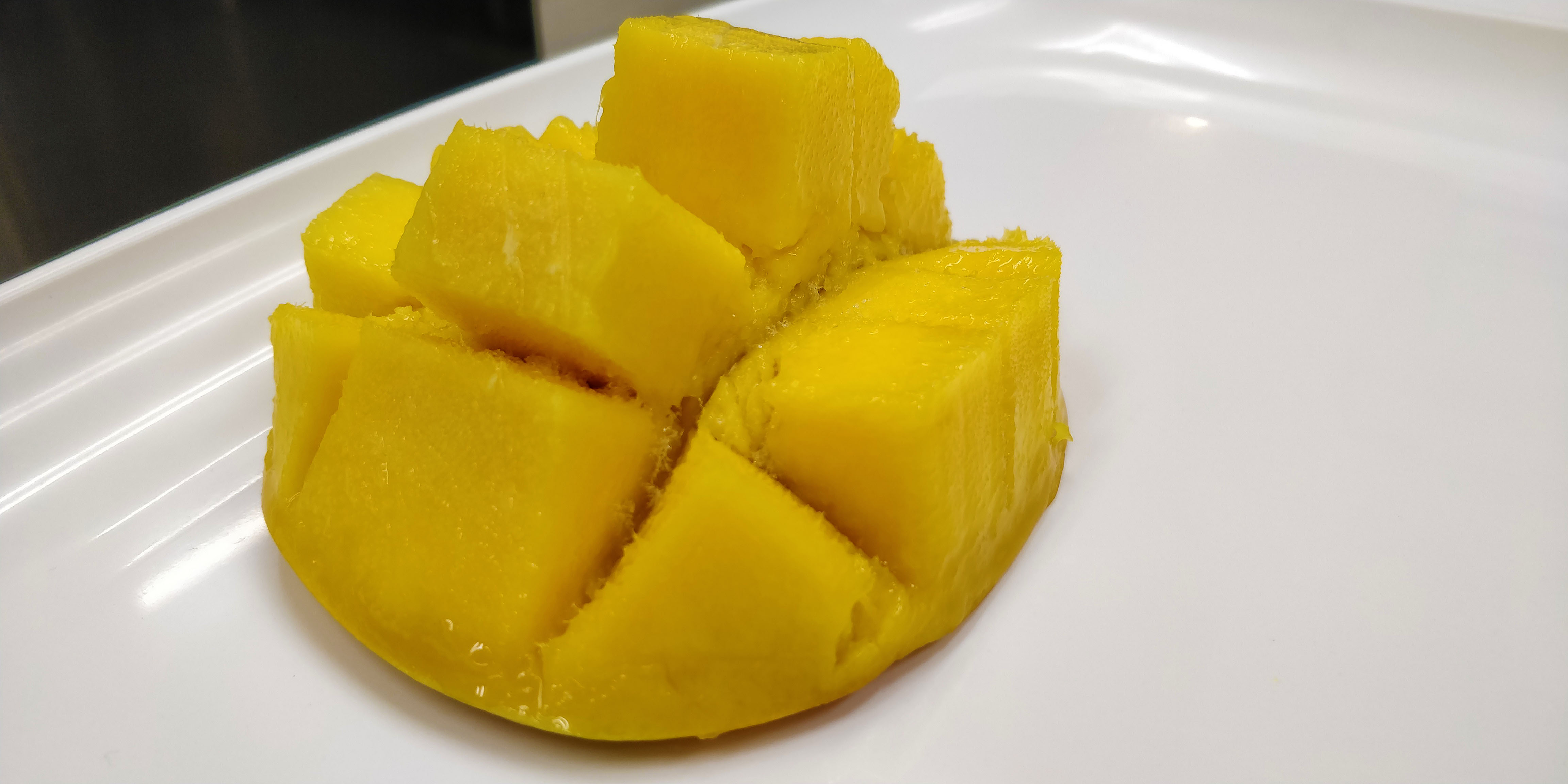 Freezing Mangoes: After Defrosting
