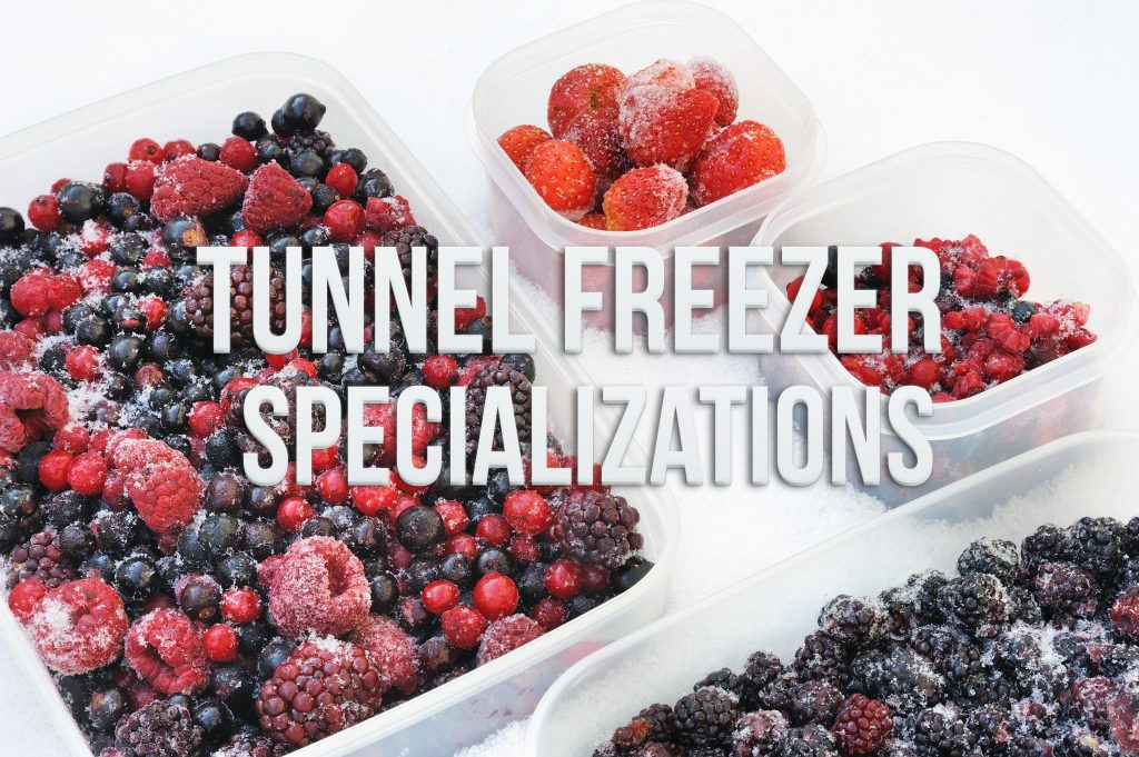 Tunnel Freezer – Specializations