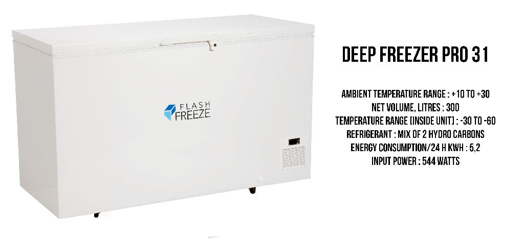 Image of Deep Freezer and Price