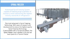 Spiral Freezer Description