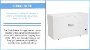 Storage Freezer Description