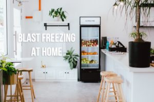 Blast Freezing at Home