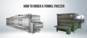 Image of two tunnel freezers