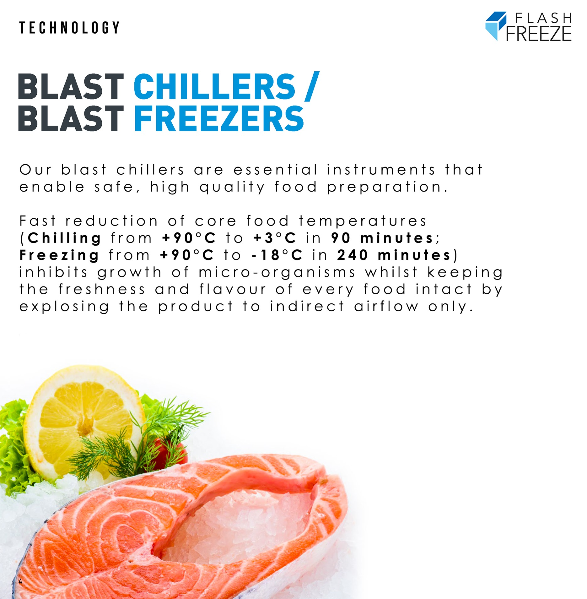 Blast Chiller Freezer Description