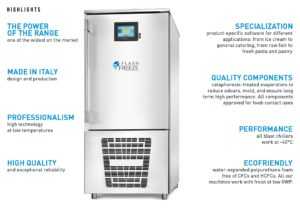 Blast Chiller Freezer Features
