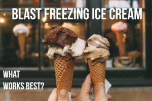 Blast Freezer Ice Cream