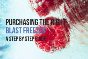 Blast Freezer Purchase Step by Step